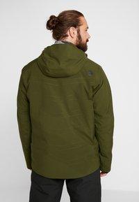 PYUA - VOID - Snowboard jacket - rifle green - 2