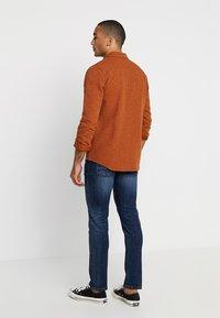 camel active - HOUSTON - Straight leg jeans - dark blue denim - 2
