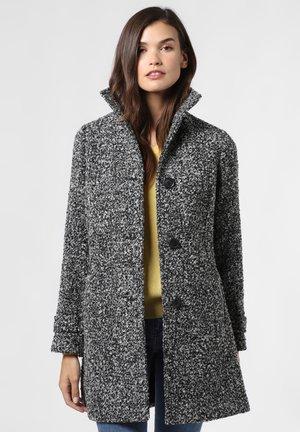 Classic coat - schwarz weiß