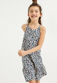 WE Fashion - MET PANTERDESSIN - Jersey dress - multi-coloured - 1