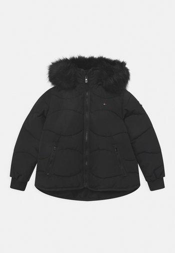 TONAL PUFFER - Winter jacket - black