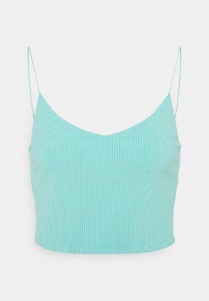 MITZI SINGLET - Top - turquoise dusty light