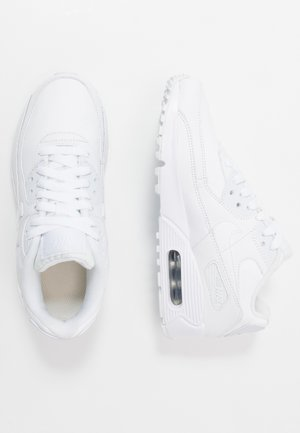 AIR MAX 90 UNISEX - Sneakersy niskie - white/metallic silver
