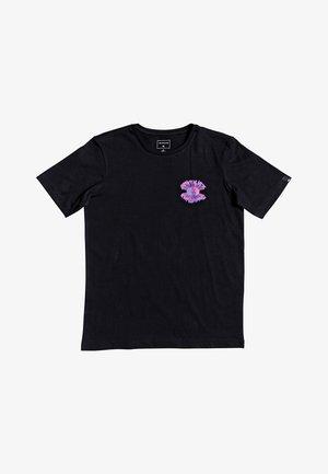 QUIKSILVER™ X RAY CAFÉ - T-SHIRT FÜR JUNGEN 8-16 EQBZT04132 - Print T-shirt - black