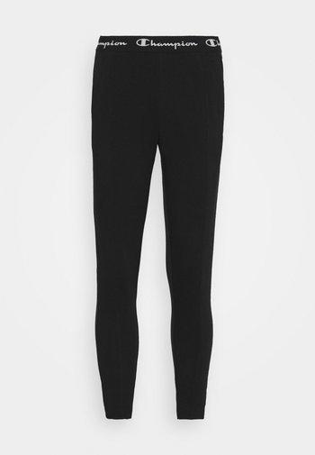 SLIM PANTS - Tracksuit bottoms - black
