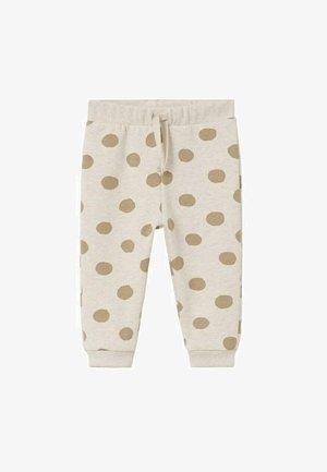 IMPRIMÉ - Pantaloni sportivi - sable