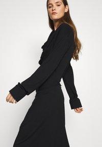 Vivienne Westwood - CLIFF DRESS - Jersey dress - black - 3