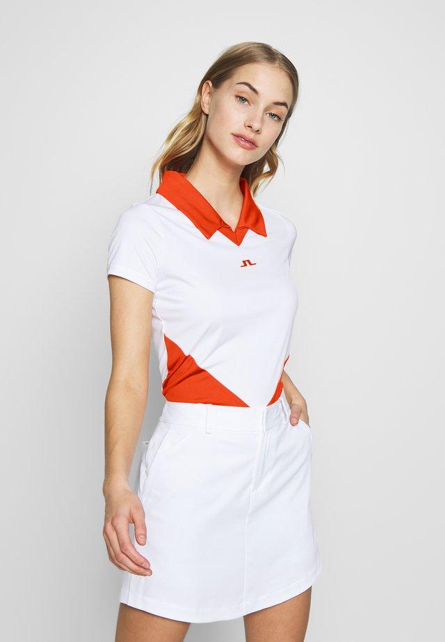 BIRGIT-TX JERSEY - Polo shirt - white