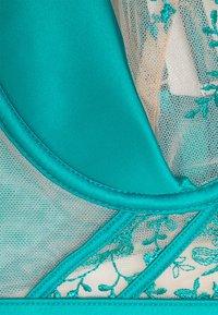 Ann Summers - THE DELIGHTFUL PLUNGE - Kaarituelliset rintaliivit - teal - 2