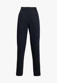 PIECES Tall - PCHOLVIA ANKLE PANT - Bukse - night sky/bright white - 5