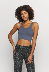 Etam - KAELEY BRASSIERE - Light support sports bra - gris - 0