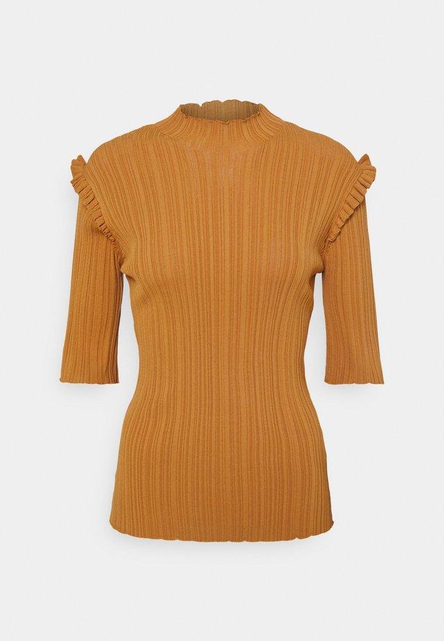 TAIGER - T-shirt basique - lt. brown