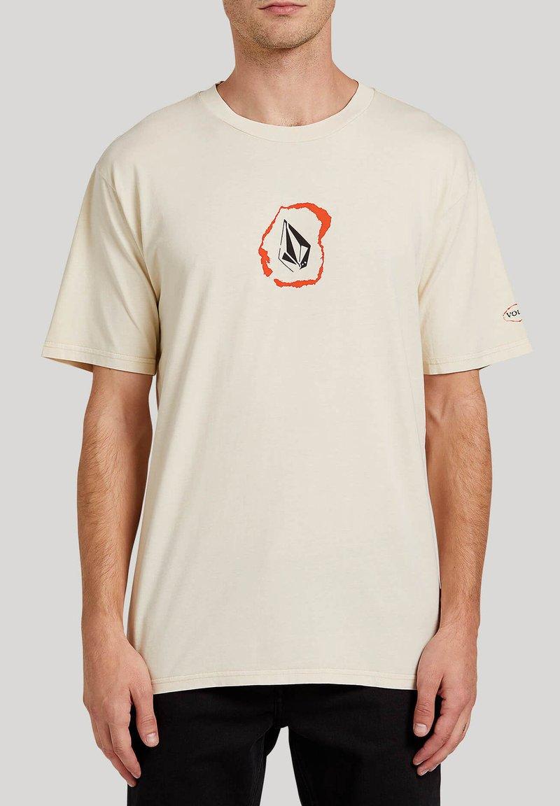 Volcom - POSTED S/S TEE - Print T-shirt - white_flash