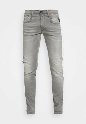ANBASS HYPERFLEX REUSED - Slim fit jeans - super light grey