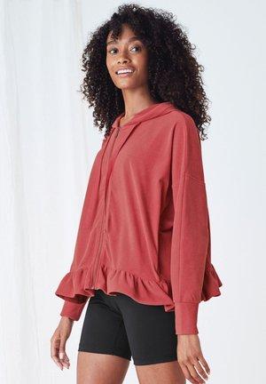 SUPERSOFT - Zip-up hoodie - pink