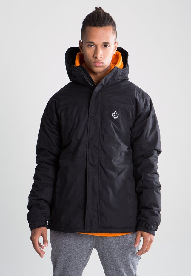 URBAN HOODED ZT MK3 - Giacca invernale - black
