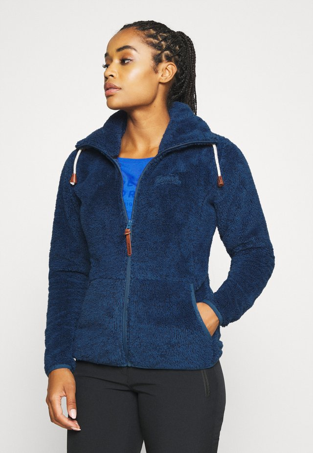 COLONY - Fleece jacket - blue