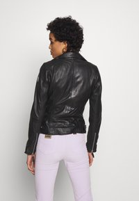 Freaky Nation - BIKER PRINCESS - Chaqueta de cuero - shadow