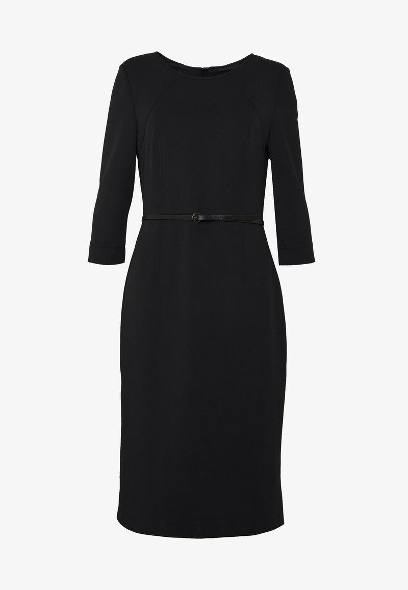 KLEID KURZ - Shift dress - true black