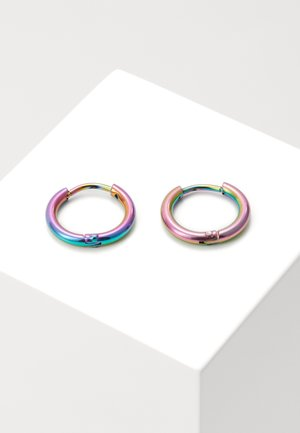 SPACE AGE HOOPS - Kolczyki - multicoloured