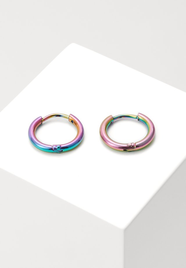 SPACE AGE HOOPS - Pendientes - multicoloured