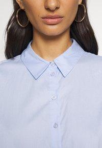 Gestuz - IBBY OVERSIZES - Button-down blouse - xenon blue - 5