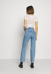 Weekday - VOYAGE LOVED - Straight leg jeans - pen blue - 2