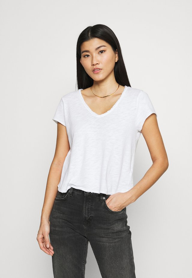 SONOMA - T-shirt basic - blanc