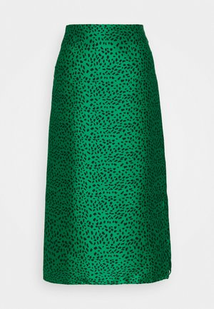 MIDI SKIRT - Gonna a campana - green