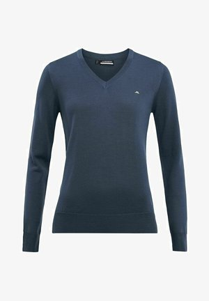 AMAYA - Stickad tröja - orion blue