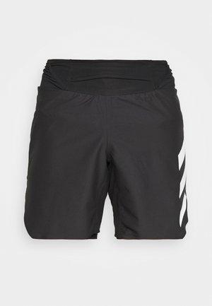 AGRAVIC SHORT 2-IN-1  - Pantalón corto de deporte - black/white