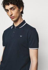 Emporio Armani - Polo shirt - dark blue - 3
