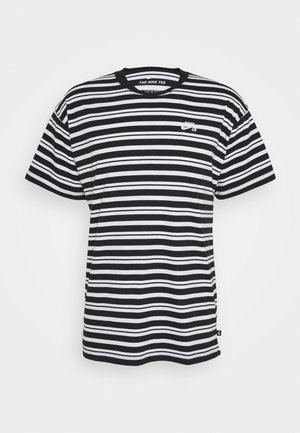 STRIPE UNISEX - T-shirt print - black