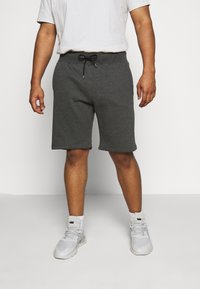 Pier One - Shorts - mottled dark grey - 0