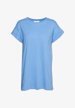 ALVA PLAIN TEE - Jednoduché triko - vista blue