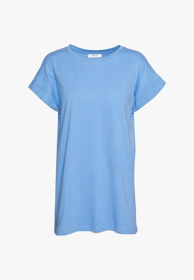 ALVA PLAIN TEE - T-shirt basic - vista blue