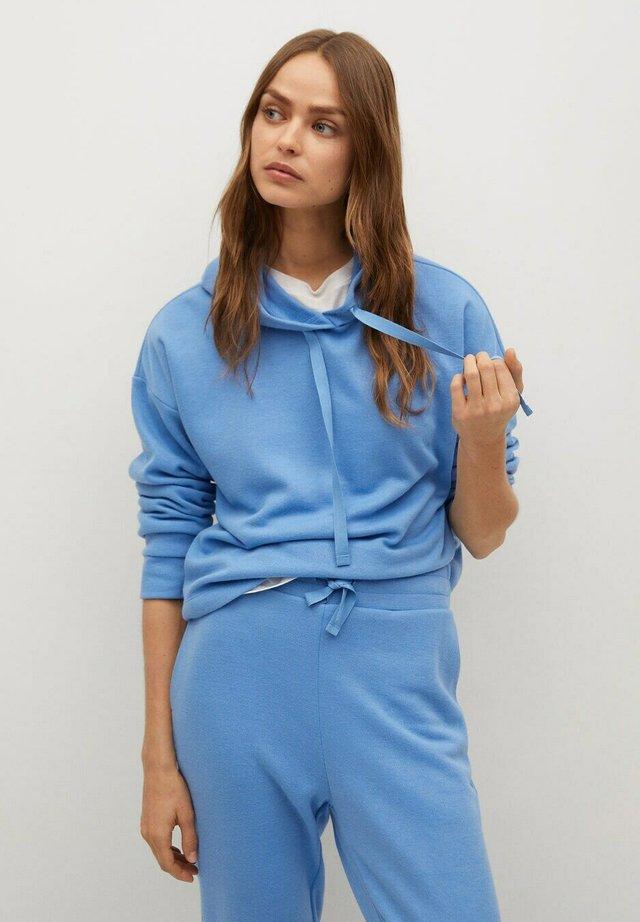 Bluza z kapturem - sky blue