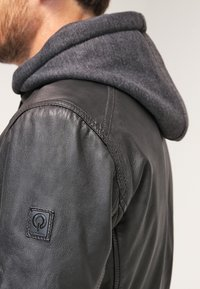 Oakwood - JIMMY - Leather jacket - noir - 5