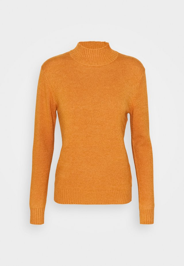 VIRIL TURTLENECK - Neule - pumpkin spice melange