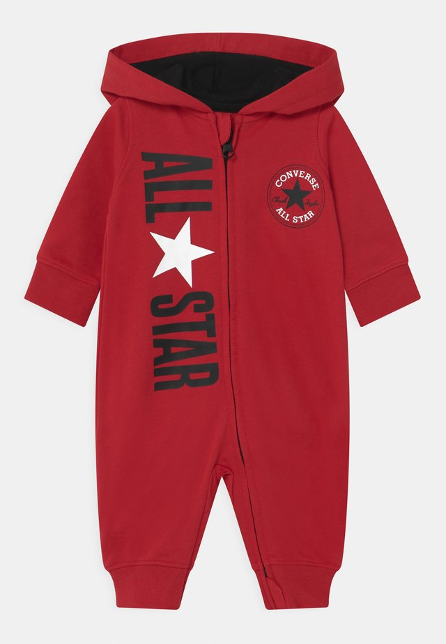 COSMIC HOODED UNISEX - Jumpsuit - enamel red
