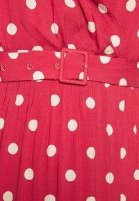 Freequent - Maxi dress - garnet rose/sand - 6