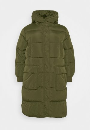 PCSEVIGNE PADDED JACKET - Winter coat - forest night
