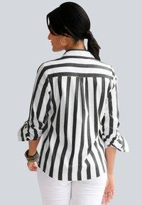 Alba Moda - Button-down blouse - schwarz weiß - 2