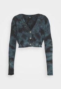 BDG Urban Outfitters - AMARA TIE DYE CARDIGAN - Cardigan - blue - 4