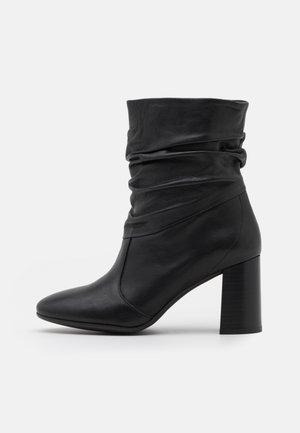 AGATA - Classic ankle boots - savana