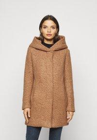 ONLY Petite - ONLNEWSEDONA COAT - Classic coat - toasted coconut melange - 0
