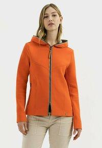 camel active - SCUBA - Zip-up hoodie - orange - 0