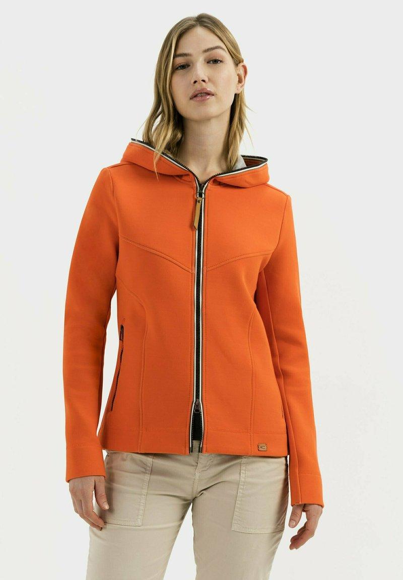 camel active - SCUBA - Zip-up hoodie - orange
