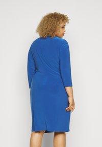 Lauren Ralph Lauren Woman - CLEORA  DAY DRESS - Shift dress - dark cerulean - 2