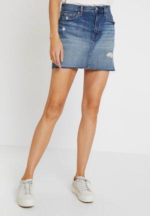 SKIRT MED MOSCATO - A-line skirt - medium wash